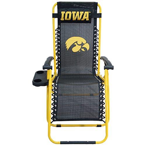 College Covers Iowa Hawkeyes Zero Gravity Chair