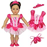 Best Doll Set With Ballerina Outfits - Sophia's 18 Inch Doll Ballet Costume 3 Pc Review