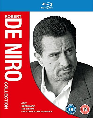 Robert De Niro Collection - 4-Disc Box Set ( Heat / Goodfellas / The Mission / Once Upon a Time in America ) [ Blu-Ray, Reg.A/B/C Import - United Kingdom ]
