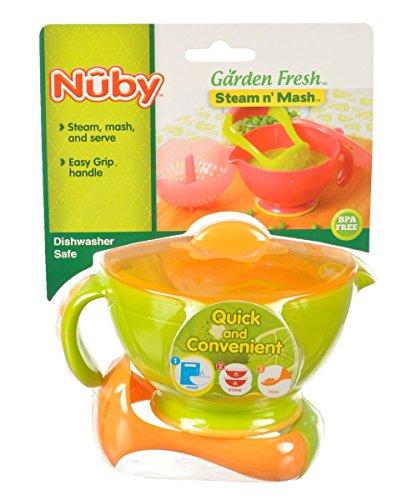 Nuby Garden Fresh Mash N' Feed (Lime)