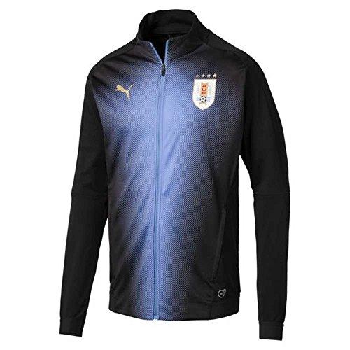 PUMA 2018-2019 Uruguay Stadium Jacket (Black) ()