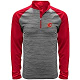 Levelwear NHL Men's Vandal Wordmark Quarter Zip Mid-Layer