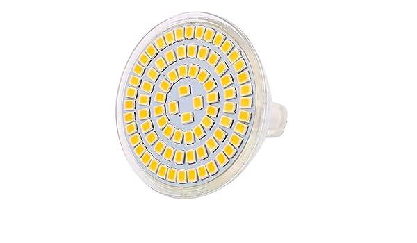 eDealMax 110V 8W MR16 2835 SMD 80 LED LED Luz Lámpara de Down iluminación de la lámpara blanco caliente - - Amazon.com