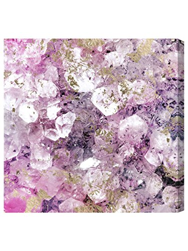 The Oliver Gal Artist Co. Abstract Wall Art Canvas Prints 'Crystal Romance' Home Décor, 20