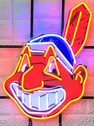 Cleveland Indians Neon Sign - Queen Sense 24