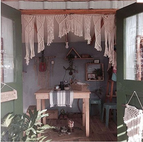 Chic bohemian Macrame wall decorations
