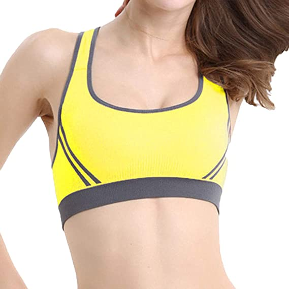 Luckycat Yoga Sujetador Reductor Minimizador sin Aros para Pecho Grandes para Mujer Sujetador Deportivo de Alto