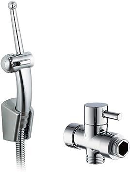 Rovate Toilet Hand Held Bidet Sprayer Premium Abs Diaper Sprayer Shattaf For Bidet Toilet Chrome Bidet Attachments Amazon Canada