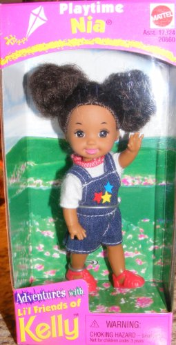 Kelly Doll Rare Playtime Nia 1998