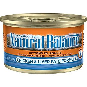 Natural Balance Venison Green Pea Formula Cat Food Pate