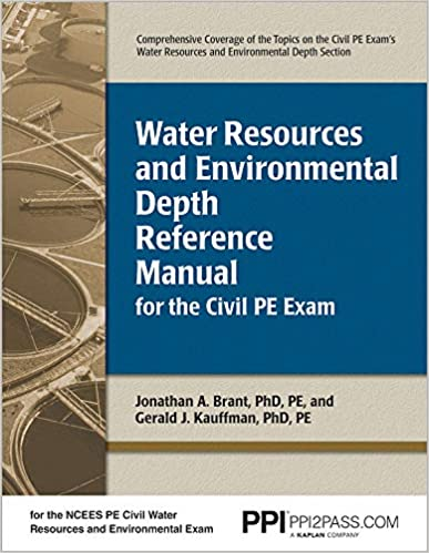 Water Resources And Environmental Depth Reference Manual For