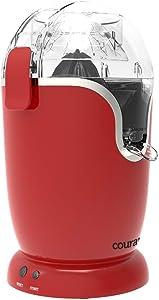Courant Hands-free Citrus Juicer, Third Generation Automatic Citrus Juicer, Maximum Juice, Dishwasher Safe parts, Electronic Juicer, Red
