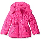 Pink Platinum Girls' Super Star Foil Puffer