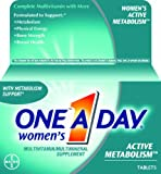One-A-Day Womens Active Metabolism Complete Multivitamin Tablets, 50 count, Health Care Stuffs