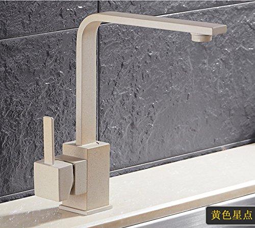 Aawang Küchenarmatur Spülbecken Wasserhahn Küche Spültischarmatur 360-Grad Rotary Wasserhahn, D