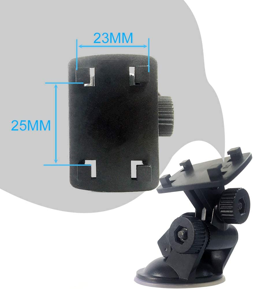 Flexible Adjustment of Angle Super Suction Suction Bracket for Reversing Systems Monitor Suitable for Car Rearview Monitor//Action Camera with The Four-Claw Fixed Hole and Other Devices