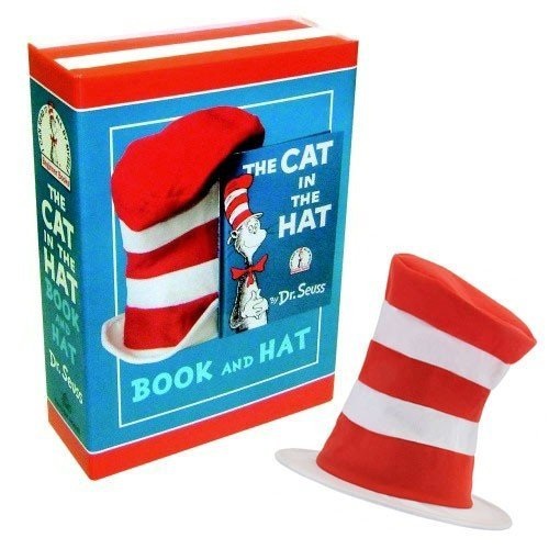 Dr. Seuss The Cat in the Hat Book and Hat Boxed Set