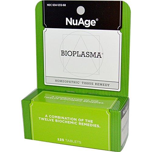 Hylands Homeopathic NuAge, Bioplasma, 125 Tablets - 2pc