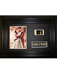 GONE WITH THE WIND Framed Film Cell Display Collectible Movie Memorabilia complemen.