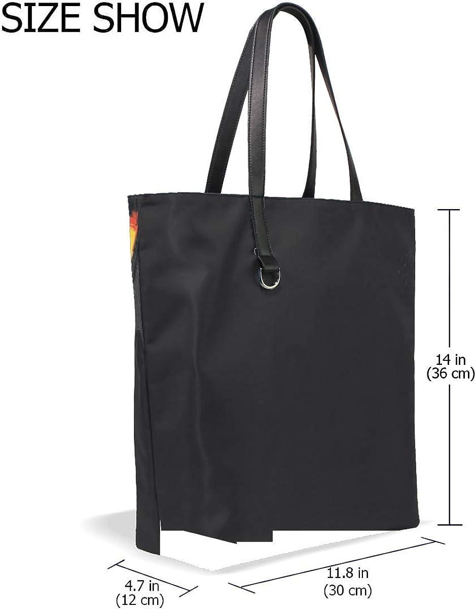 Light Umbrella Dark Tote Bag Purse Handbag For Women Girls