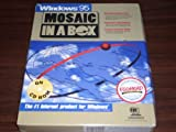 img - for Mosaic In A Box 2.0 CD-Rom Version for Win 95 for Windows 95 Or Later Vintage Sealed Retail Big Box book / textbook / text book
