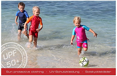 Zunblock UV Schutzkleidung Badeschuhe - Zapatos para niños, infantil Pinky