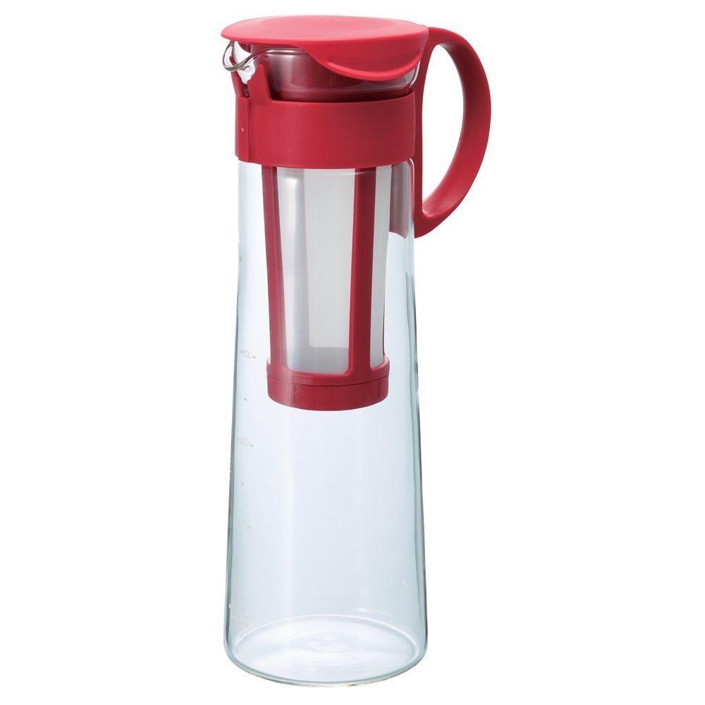 Hario''Mizudashi'' Cold Brew Coffee Pot, 1000ml, Red