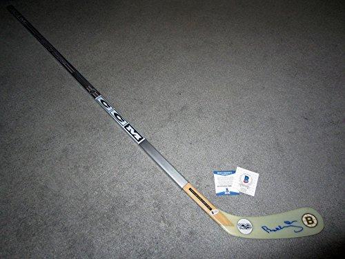 - Bobby Orr Autographed Hockey Stick - COA NHL 100 - Beckett Authentication - Autographed NHL Sticks