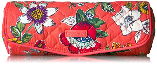 Vera Bradley Iconic on a Roll Case-Signature, Coral Floral
