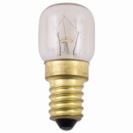 Horno de la forma Lamp bombilla Müller 300 centígrados E14 230 V ...