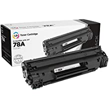 LD Compatible Replacement Laser Toner Cartridge for Hewlett Packard CE278A (HP 78A) Black for use in HP Laserjet P1566, Pro M1536dnf, and P1606dn Printers