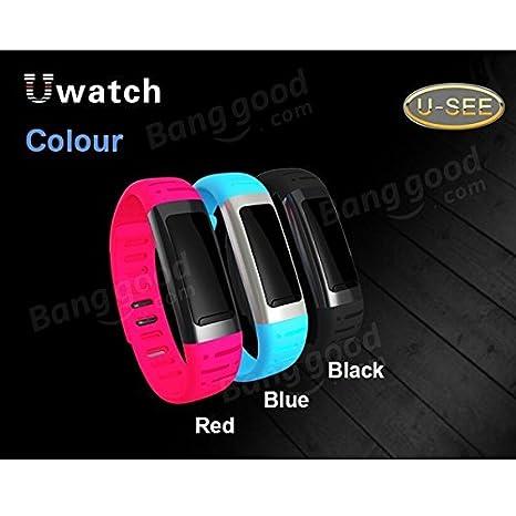PhilMat U9 u bluetooth deportes inteligentes Android pulsera reloj iphone: Amazon.es: Deportes y aire libre