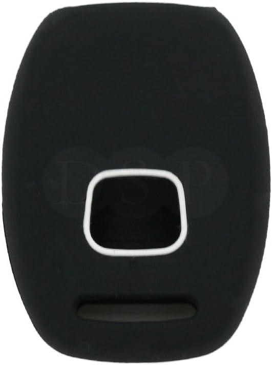 SEGADEN Silicone Cover Protector Case Holder Skin Jacket Compatible with HONDA 2+1 Button Remote Key Fob CV2204 Orange