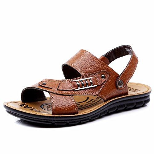 Scarpe da ping-pong scarpe da spiaggia di grandi dimensioni Scarpe da beachwear di grandi dimensioni, Khaki, UK = 6.5, EU = 40
