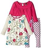 Tea Collection Baby Girls' Campos De Flores Set - Multicolor - 18-24 Months