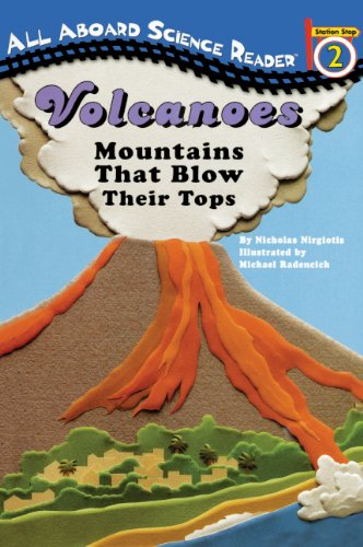 Volcanoes (Turtleback School & Library Binding Edition) (All Aboard Reading: Level 2)