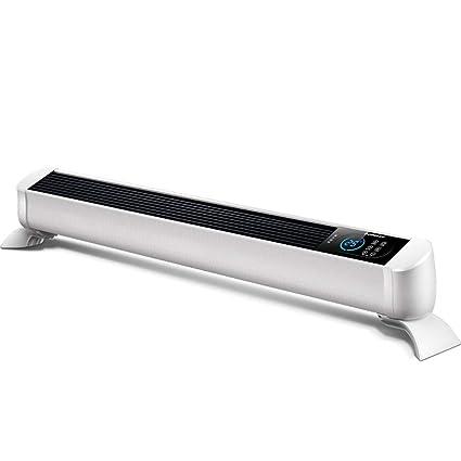 Heater Radiador de calefacción de cerámica Blanca con Control Remoto, Calentador de Espacio Personal con