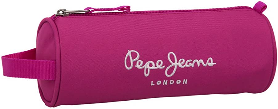 Pepe Jeans Estuche, Color Rosa: Amazon.es: Equipaje