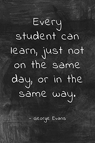 Every Student Can Learn, classroom motivational poster