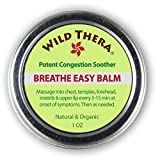 Breathe Easy: Natural Sinus Relief, Allergy Relief, Stuffy Nose and Chest Congestion. Sinus Buster for Colds, Cough, Headache, Sinus Infection Relief, Sinusitis. Sinus Rinse, Vaporizer & Neti Pot