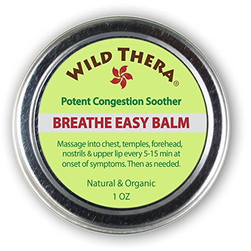 Breathe Easy: Natural Sinus Relief, Allergy Relief, Stuffy Nose and Chest Congestion. Allergy Buster for Colds, Cough, Headache, Sinus Infection Relief, Sinusitis. Sinus Rinse, Vaporizer & Neti Pot (Herbal Vapor Rub)