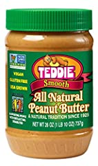 Teddie Old Fashioned Peanut Butter, the Number 1 selling natural peanut butter in the Northeast, contains 100% fresh roasted and ground, USA grown peanuts providing the most wholesome peanut butter available. In over 87 years in business, we ...