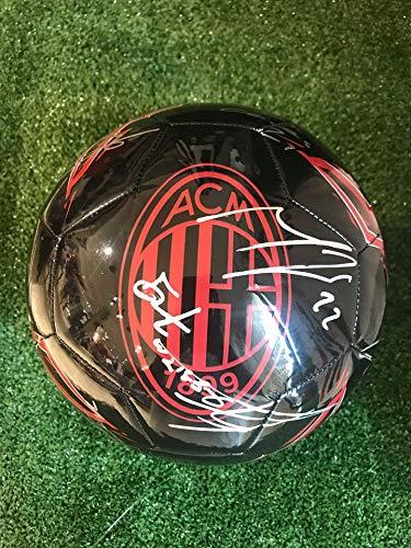 Balón de Adidas Europa con los autógrafos del A.C.Milan temporada ...