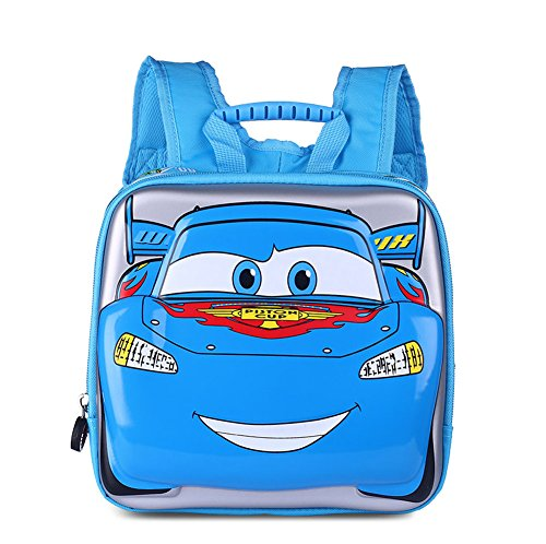 ..Classic Schoolbag Cars with Storage - 8