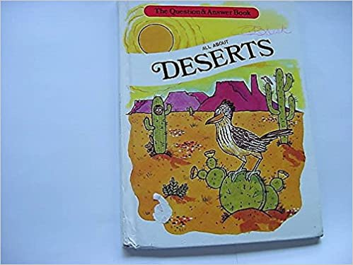 All About Deserts Question Answer Books Troll John Sanders - All deserts