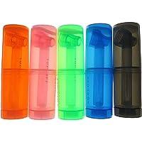 Resuable Portable Plastic Water Bottle (Black)