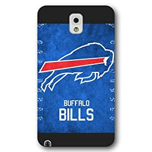 UniqueBox Customized NFL Series Case for Samsung Galaxy Note 3, NFL Team Buffalo Bills Logo Samsung Galaxy Note 3 Case, Only Fit for Samsung Galaxy Note 3 (Black Frosted Shell)