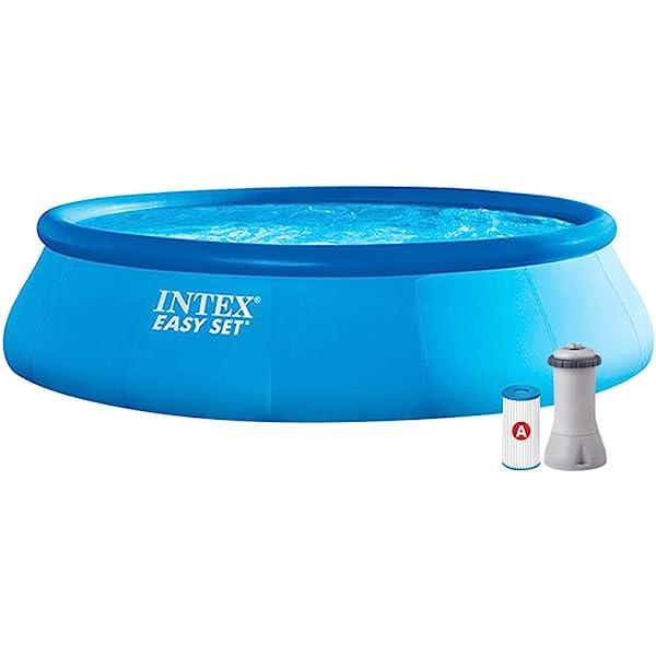 Intex - Piscina Easy Set C/Filtro Y Escalera 13.200L: Amazon.es ...