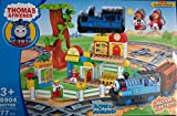 Jaibros Thomas And Friends 77 Pcs Big Train Set With Lights And Sounds (Medium Size Track)