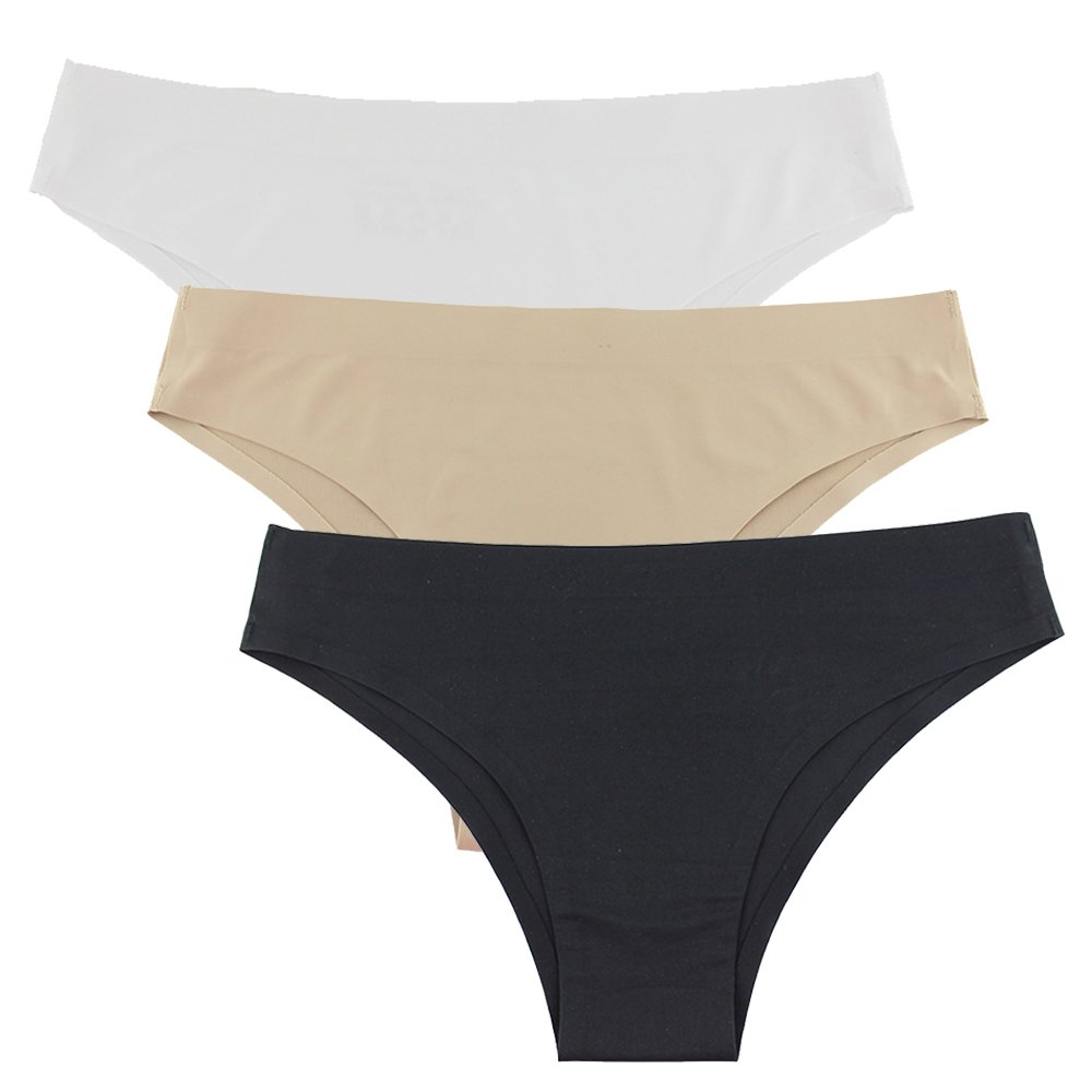 Twippo Tanga Bikini, Braguitas Para Mujer, Pack de 3